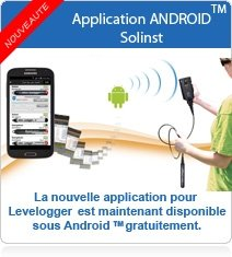 Solinst App Levelogger pour Android ™